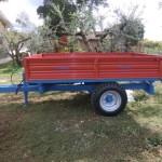 Rimorchio per trasporto per oleifici